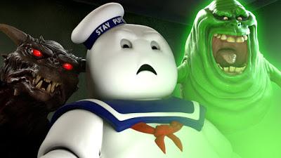 Ghostbusters: Dan Aykroyd e il regista Ivan Reitman visitano il labirinto dedicato agli Acchiappafantasmi