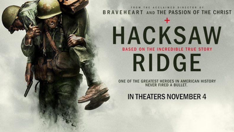 """""""LA BATTAGLIA DI HACKSAW RIDGE"""" (2016) – La recensione del film di MEL GIBSON con Andrew Garfield"""
