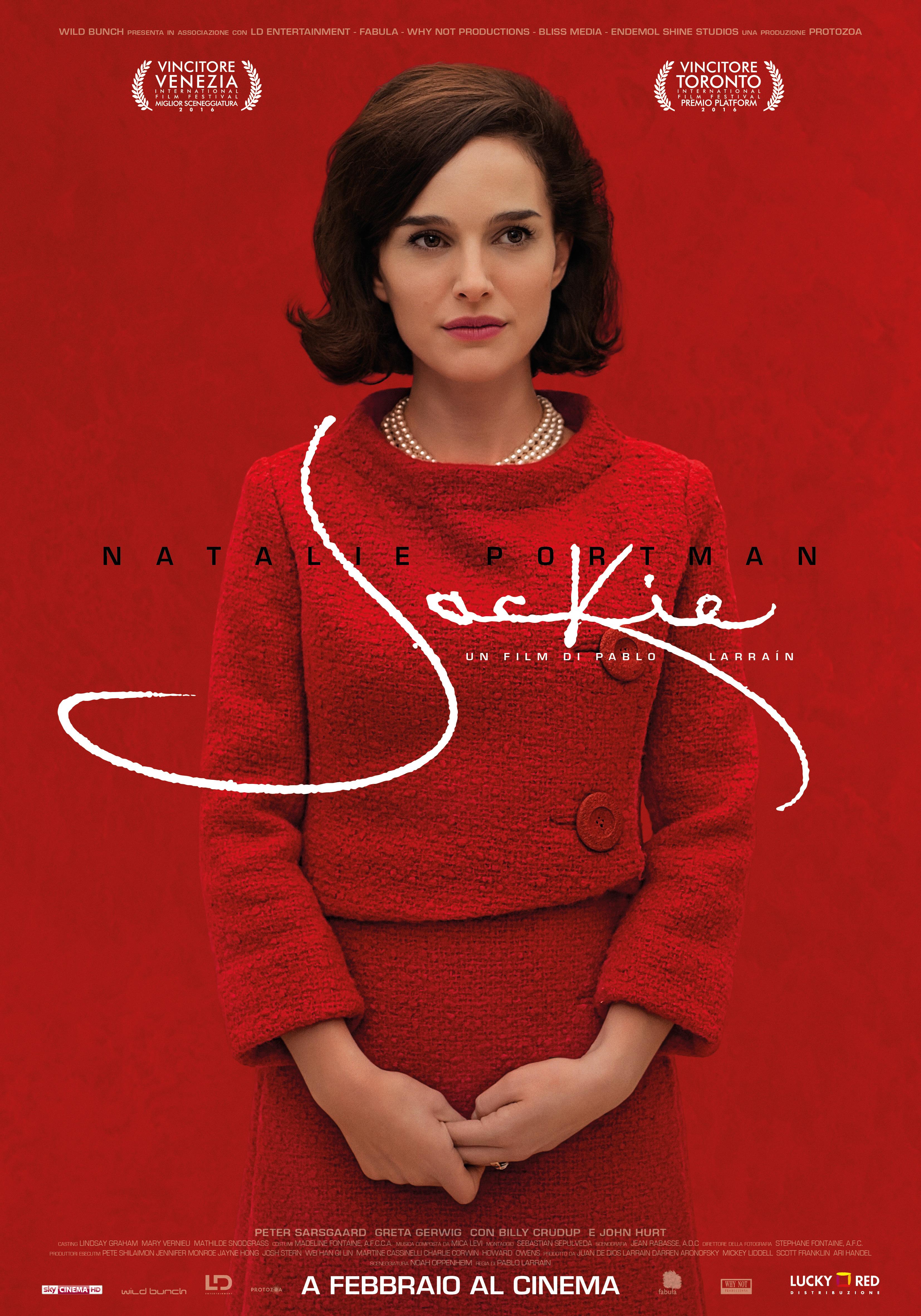 """""""JACKIE"""" (2017) – Natalie Portman una First Lady da Oscar"""
