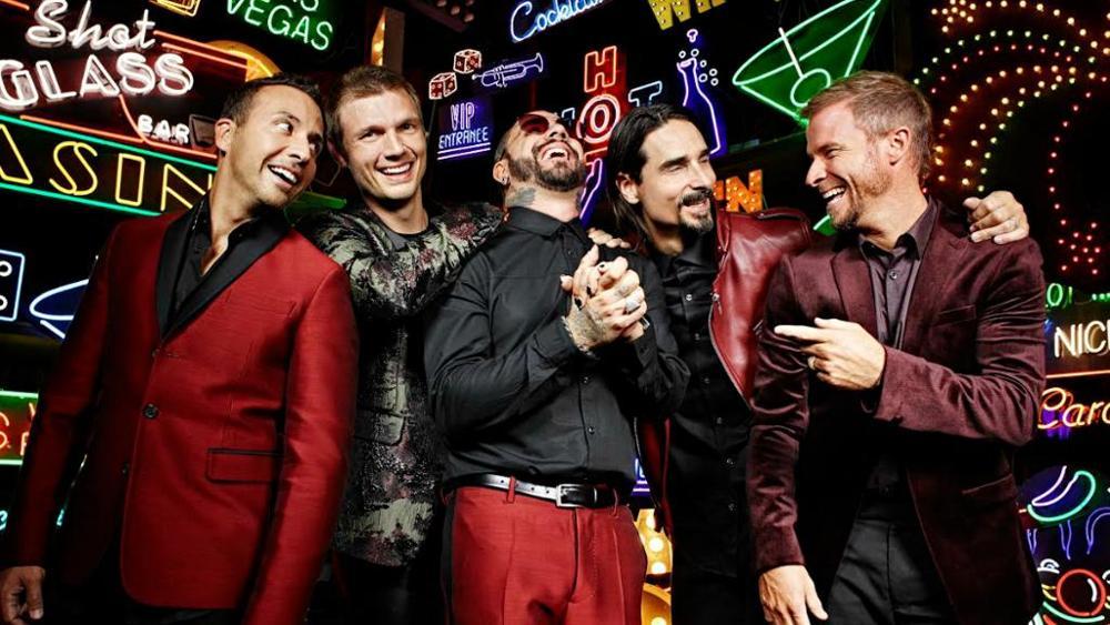 I Backstreet Boys tornano live a Las Vegas fino a luglio