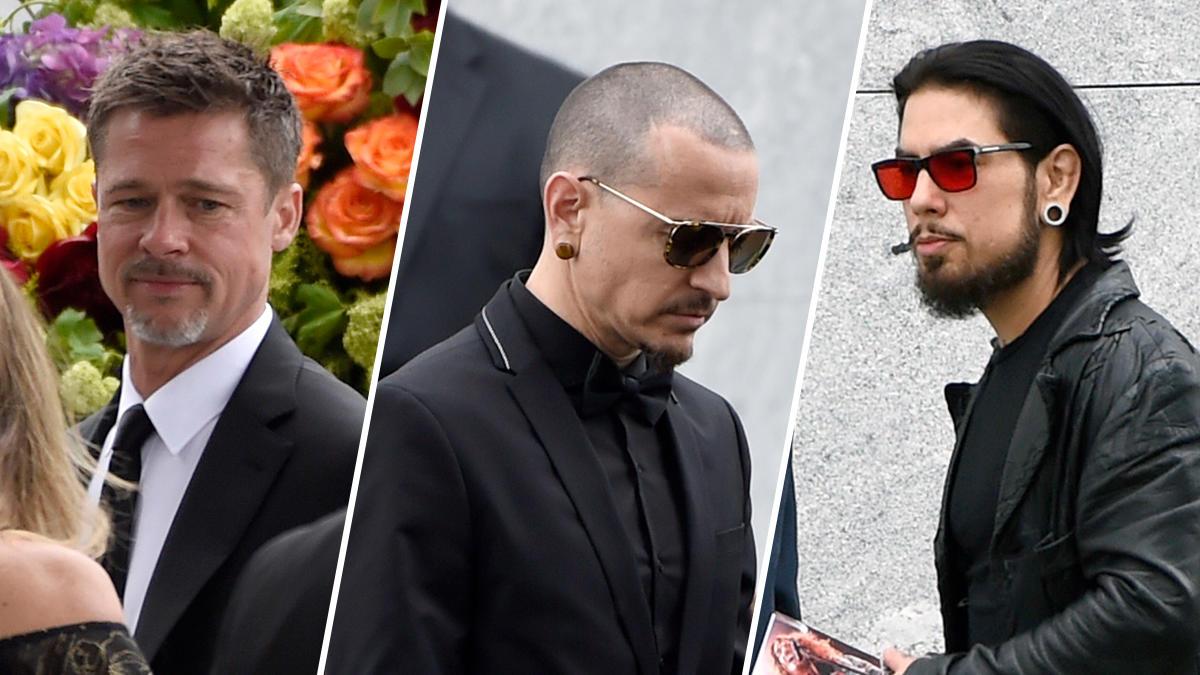 I funerali di Chris Cornell: Brad Pitt, Christian Bale e molti altri artisti alla cerimonia