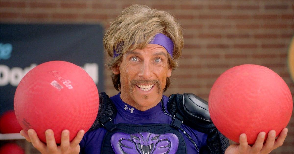 Ben Stiller e il cast di Dodgeball riunito