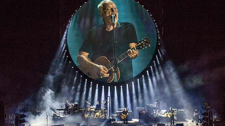 """Live at Pompei"" di David Gilmour (Pink Floyd) arriva nei cinema"