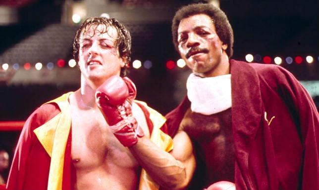 Piccola reunion tra Rocky e Apollo