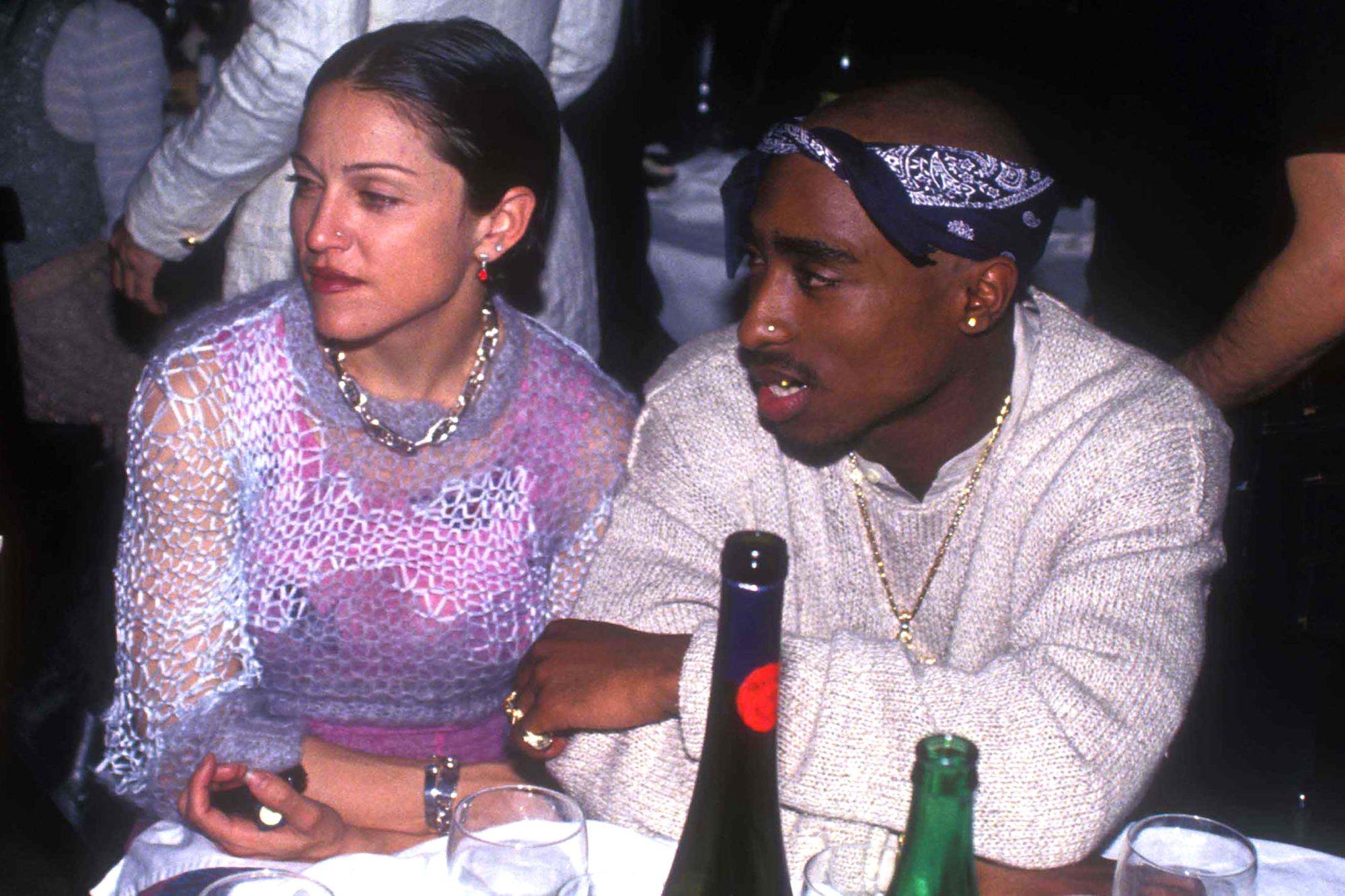 Trovata lettera di Tupac a Madonna: il colore della pelle è stato motivo della loro rottura