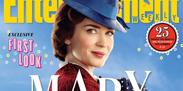 Mary Poppins Returns: il primo trailer con Emily Blunt