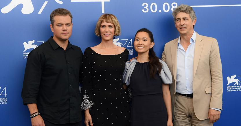 DOWNSIZING: la recensione del film d'apertura della 74 Mostra del cinema di Venezia