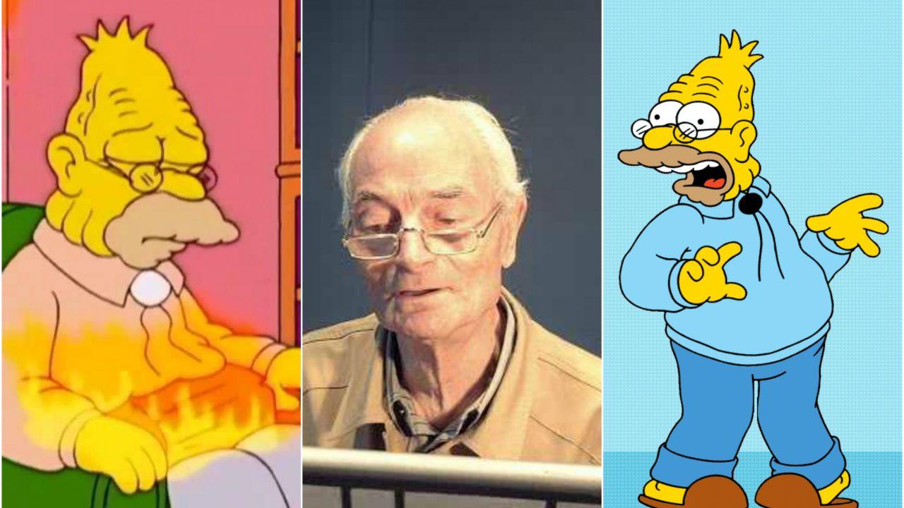 È morto Mario Milita, lo storico doppiatore di Nonno Simpson