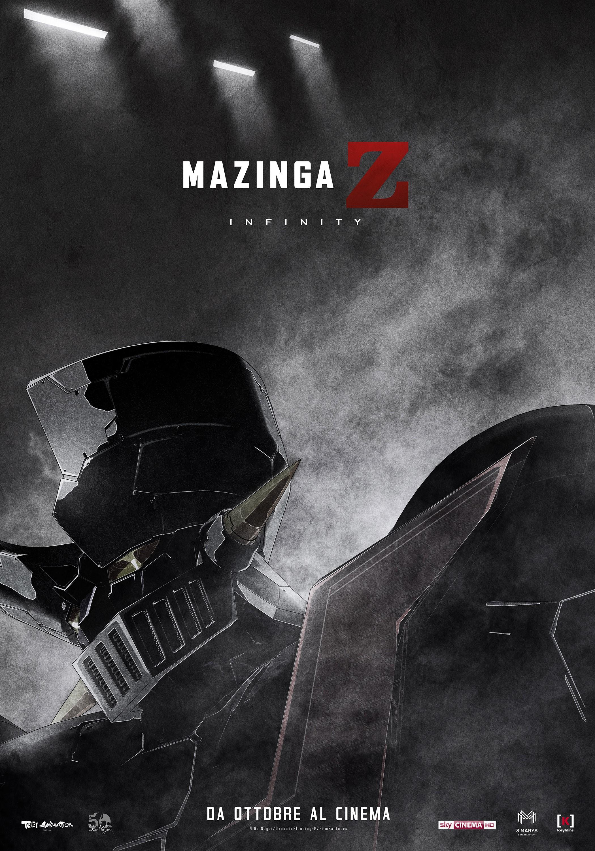 """""""Mazinga Z Infinity"""" in prima mondiale alla dodicesima edizione della FESTA DEL CINEMA DI ROMA"""