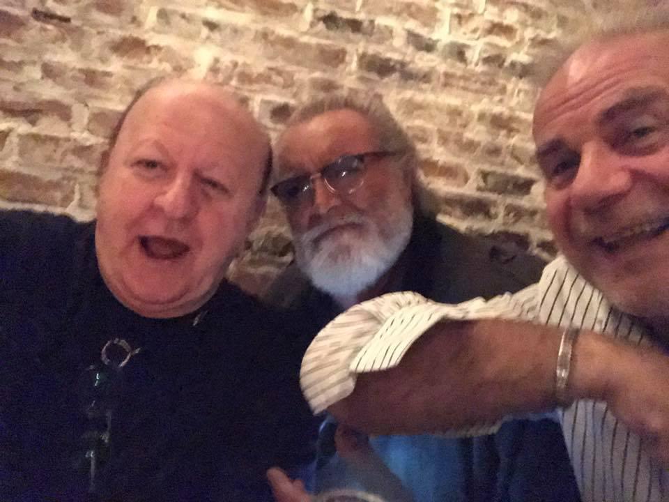 I grandi comici si riuniscono: Jerry Calà, Renato Pozzetto, Diego Abatantuono, Massimo Boldi insieme per una serata