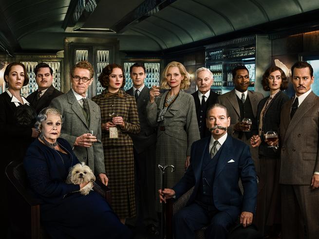 Assassinio sull'Orient Express: arrivano i poster di ogni personaggio (foto)
