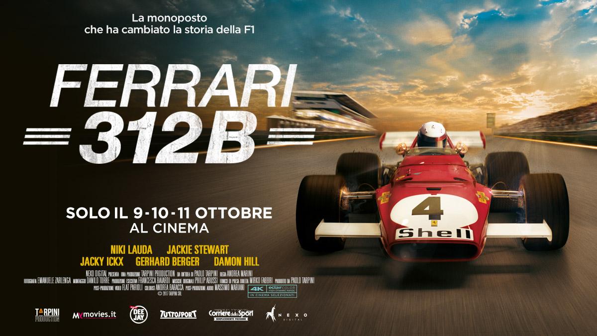 FERRARI 312B: il film sulla monoposto che cambiò la storia della F1