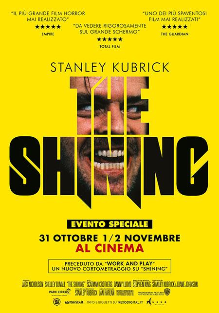 Shining torna al cinema per Halloween con un cortometraggio inedito