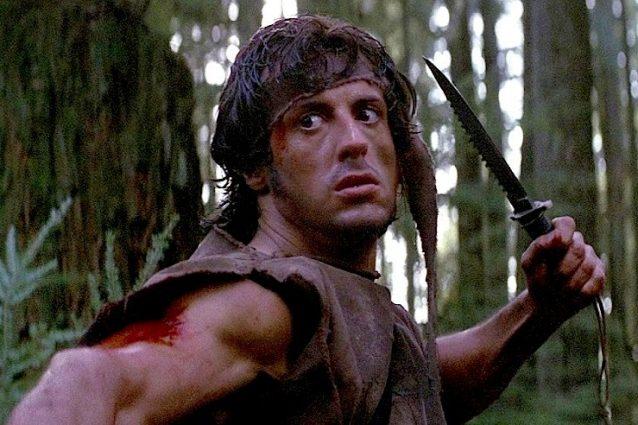 """35 anni fa usciva """"Rambo"""", il cult con Stallone."""