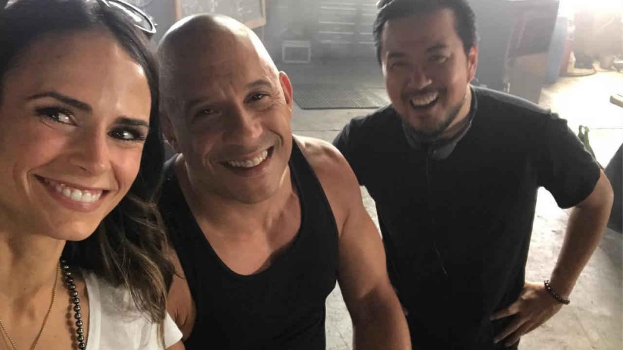 """Vin Diesel si riunisce con """"sua sorella"""" in 'Fast & Furious' Jordana Brewster e annuncia grandi novità."""