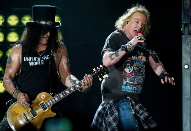 I Guns N' Roses tornano in ITALIA!