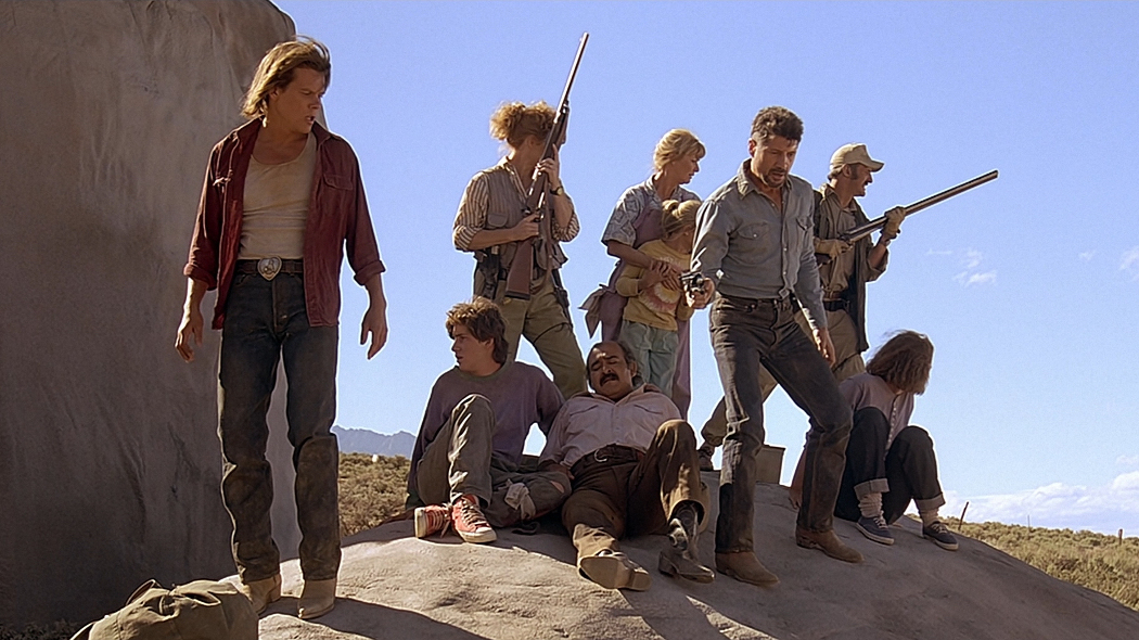 Kevin Bacon e la nuova serie su TREMORS