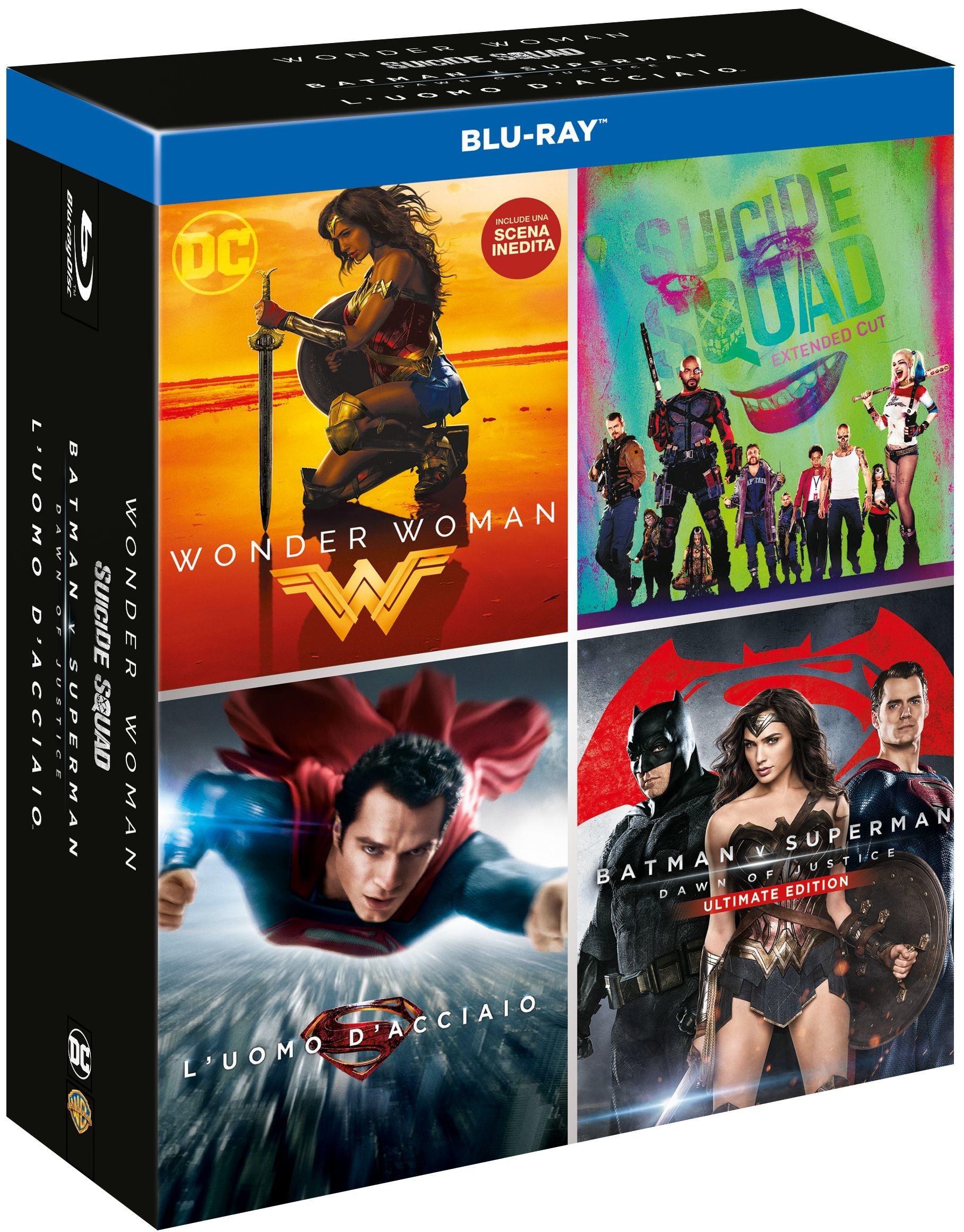 Warner Bros Home video : Boxset DC 4 Film