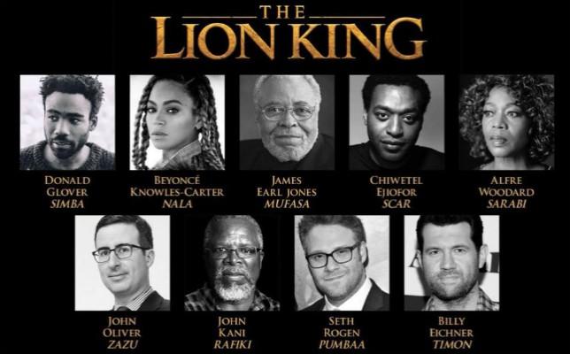Beyonce, Seth Rogen e molti altri confermati nel film de Il Re Leone
