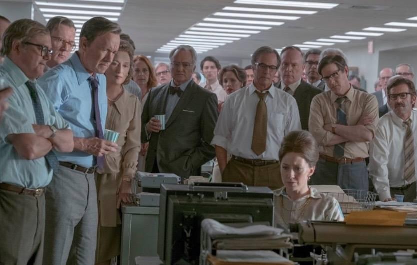 The Post – Prima immagine del nuovo film di Spielberg con Meryl Streep e Tom Hanks