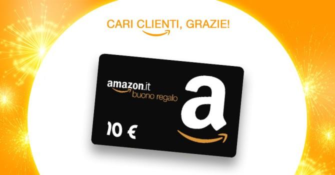Amazon.it offre solo per oggi 10 Euro di sconto sugli acquisti superiori a 50 euro.