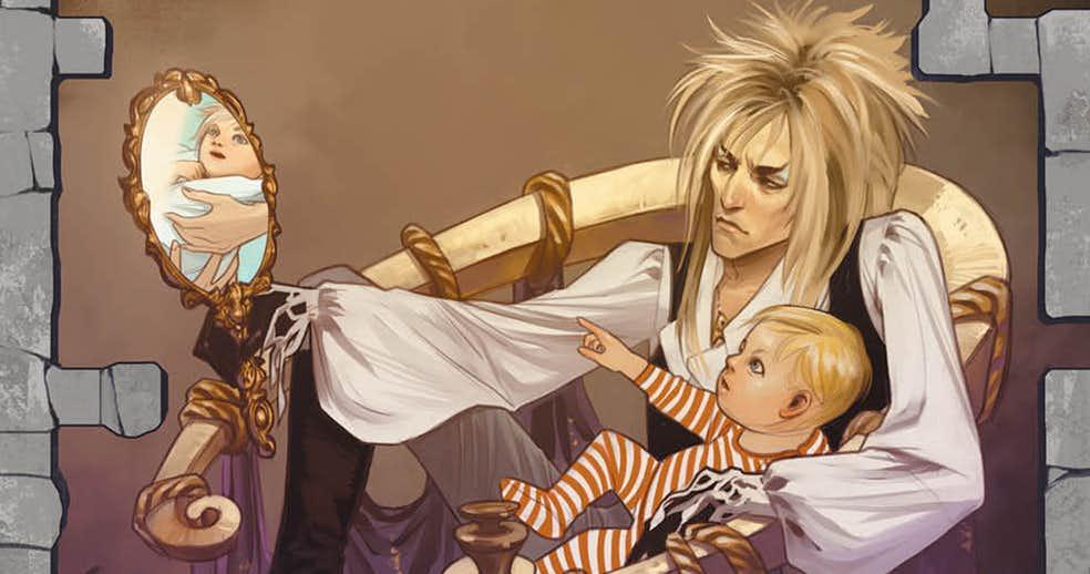 Labyrinth: un fumetto racconterà le origini del Re dei Goblin