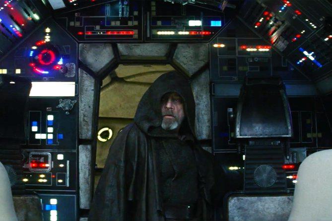 """NUOVO TEASER DI """"STAR WARS: GLI ULTIMI JEDI"""". Luke Skywalker rientra nel Millennium Falcon (video)"""