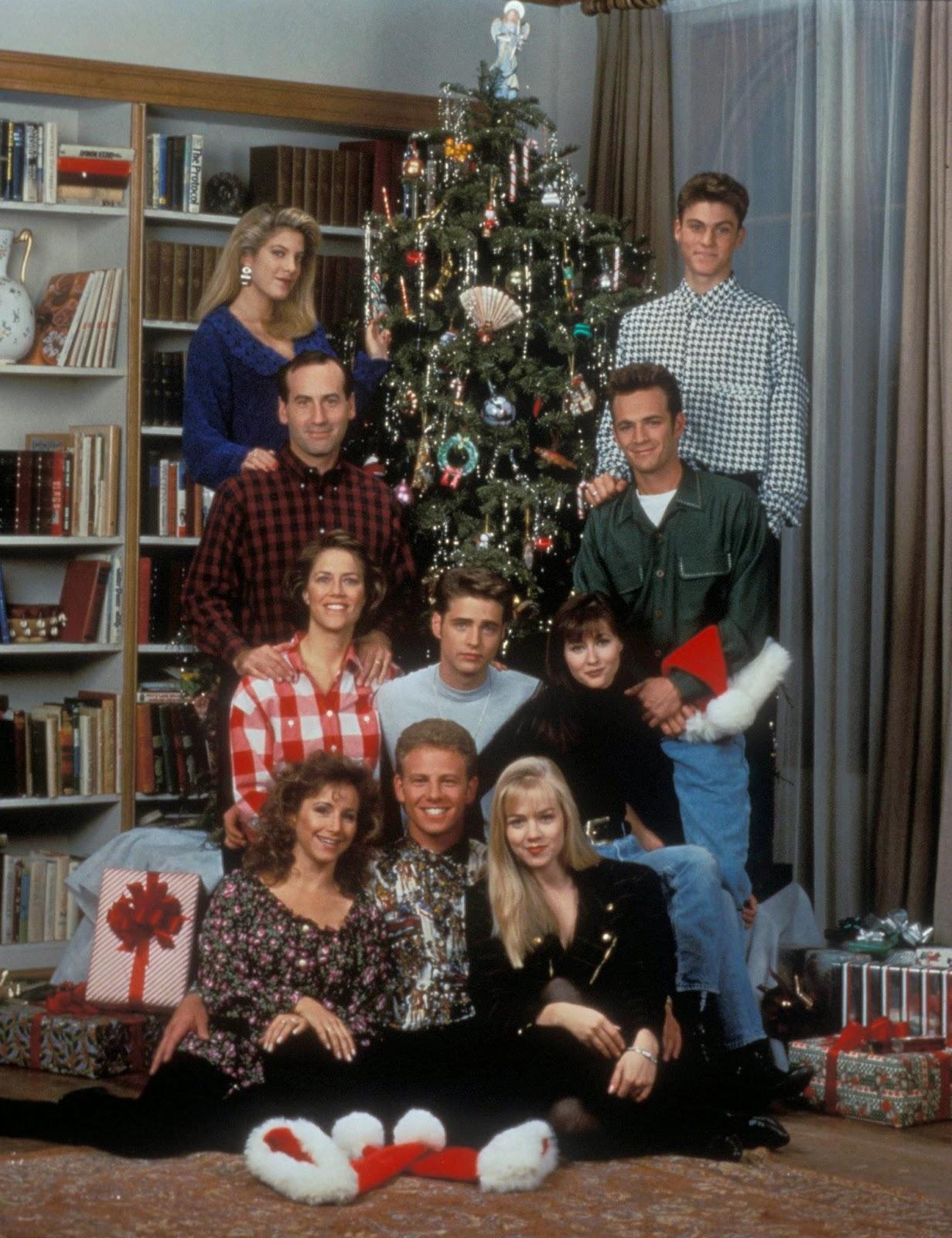 Come hanno festeggiato le feste gli attori di Beverly Hills 90210?
