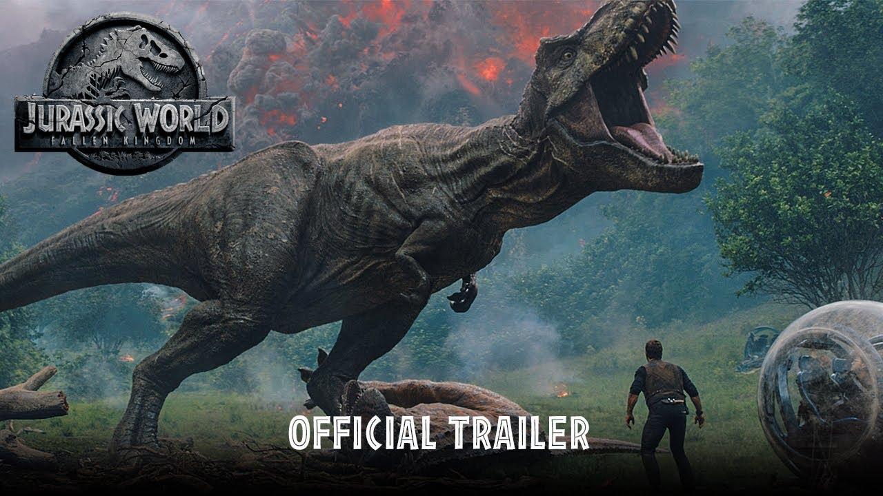 Jurassic World – Il regno distrutto : Primo trailer ufficiale italiano