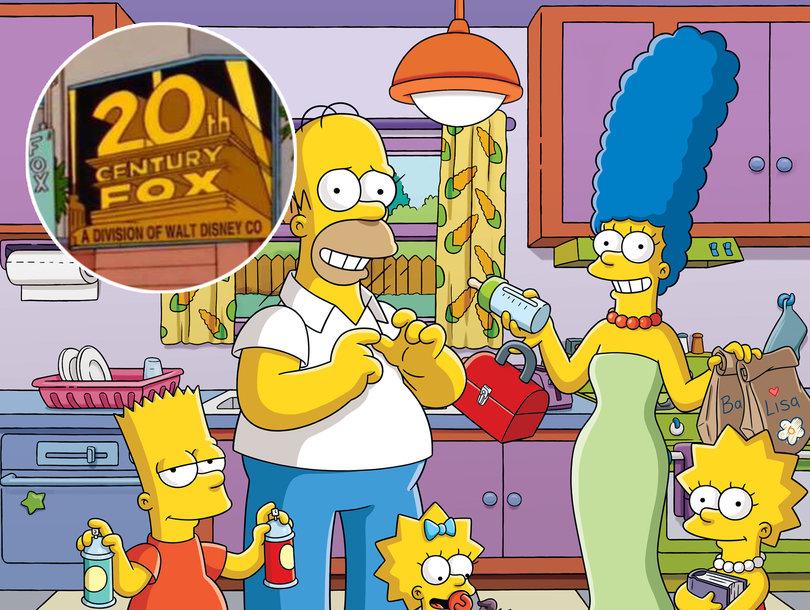 La chiaroveggenza dei Simpsons colpisce ancora. Predetta l'unione della Fox alla Disney 19 anni fa