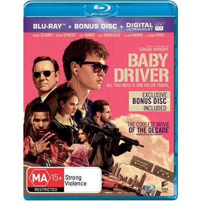 BABY DRIVER – IL GENIO DELLA FUGA in DVD, Blu-Ray e 4k Ultra HD con Universal Pictures Home Entertainment Italia