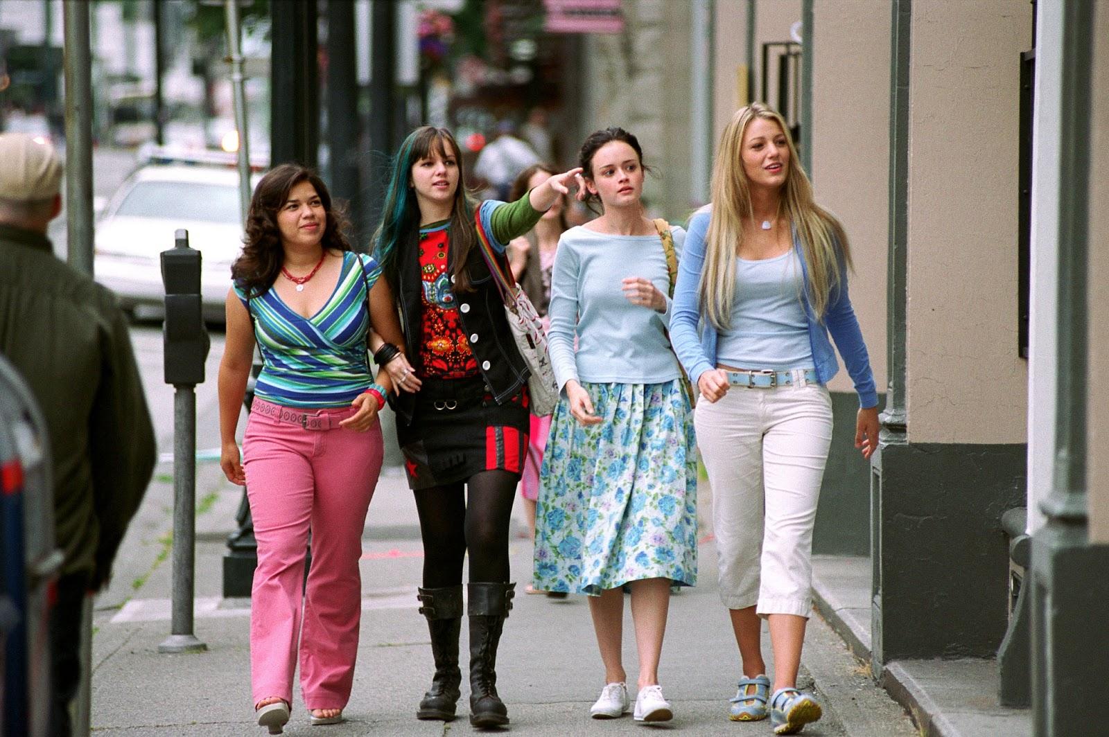 """""""Quattro amiche e un paio di jeans"""": le amiche si riuniscono per festeggiare la gravidanza di America Ferrera"""