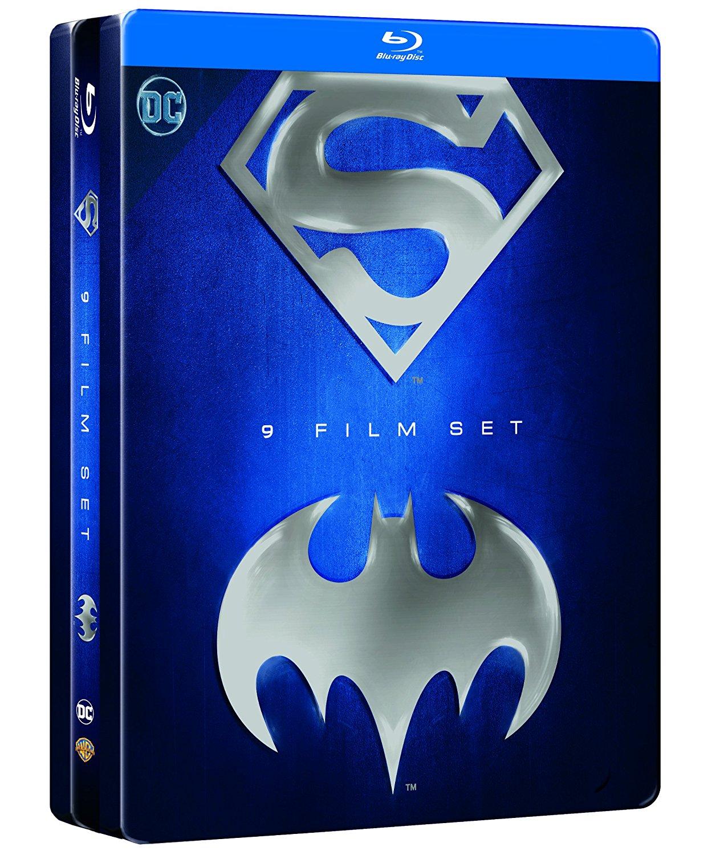 RECENSIONE Batman/Superman Anthology (9 Blu-Ray)