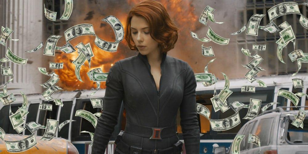 """Scarlett Johansson potrebbe essere l'attrice più pagata di sempre per """"La Vedova Nera"""""""