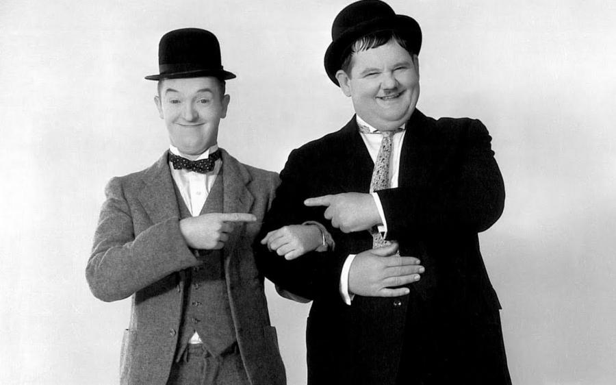 Film biografico su Stan Laurel e Oliver Hardy: trapelate le prime foto dei due protagonisti!