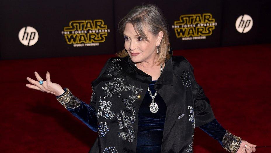 Carrie Fisher vince il Grammy Award per il Miglior Album Parlato
