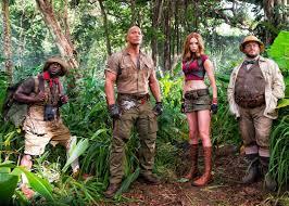 Jumanji: Benvenuti nella giungla in testa al box office del primo gennaio