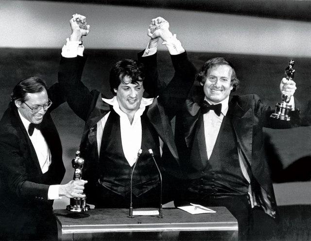 28/03/1977 ROCKY VINCE L'OSCAR COME MIGLIOR FILM