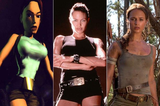 Le trasformazioni di Lara Croft (Tomb Raider) nel corso degli anni