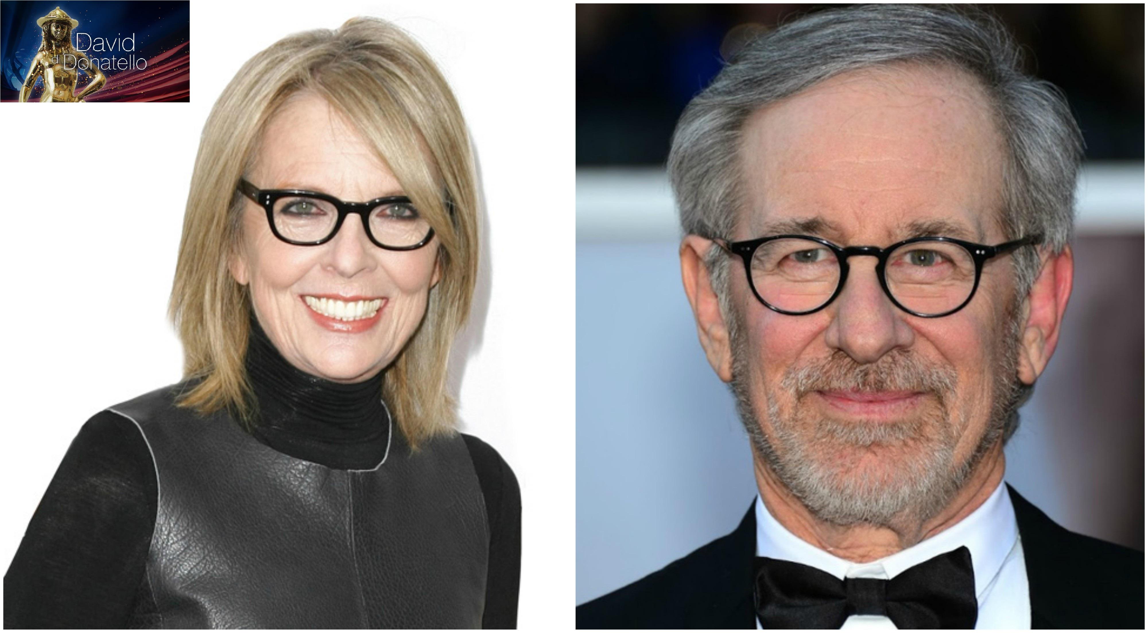 Steven Spielberg e Diane Keaton premiati ai David Di Donatello 2018