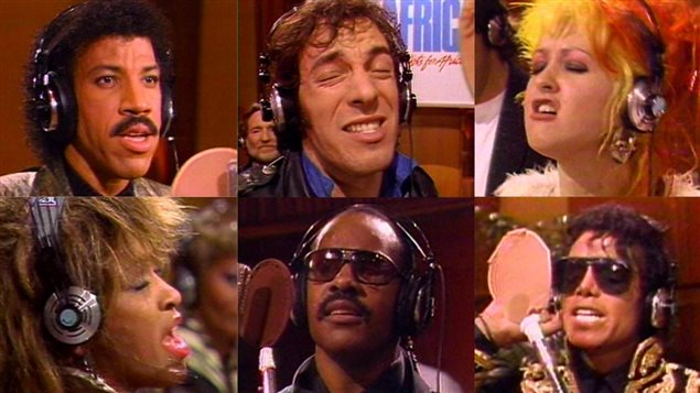 "7 marzo 1985: arrivava nelle radio la canzone ""We are the world"""
