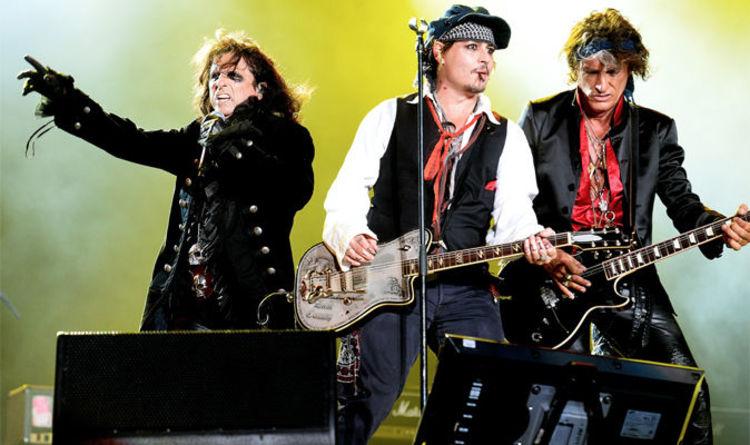 THE HOLLYWOOD VAMPIRES: Johnny Depp, Alice Cooper e Joe Perry suoneranno a Roma