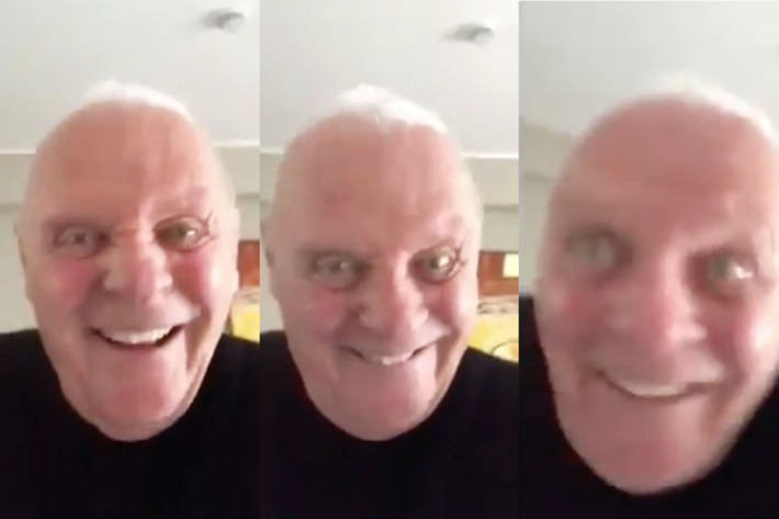 Il video di Antony Hopkins che sta spaventando il web
