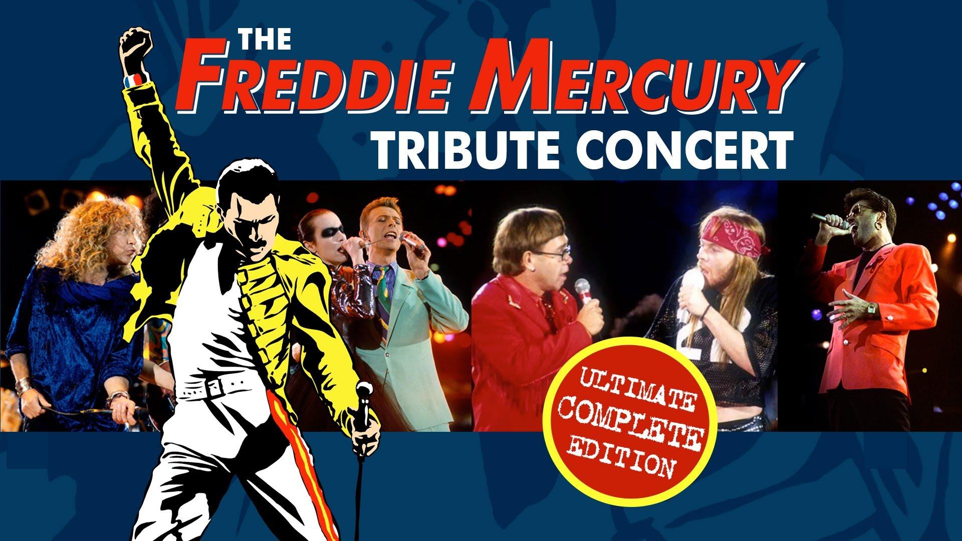 Queen: 29 anni fa il concerto tributo a Freddie Mercury (VIDEO)