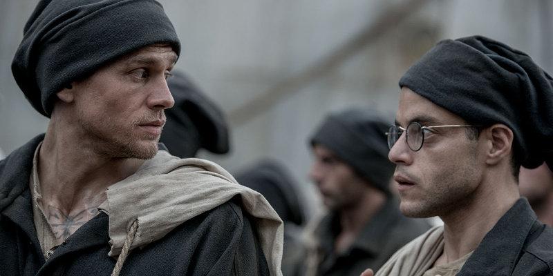 PAPILLON: trailer del remake con Rami Malek e Charlie Hunnam