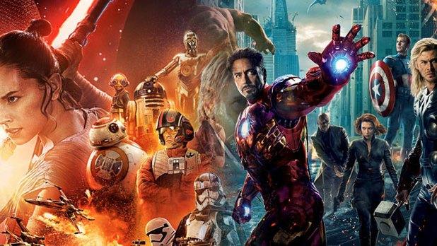 Star Wars si congratula con gli Avengers per il superamento del record al box-office