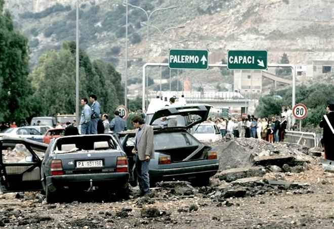 23 maggio 1992: l'attentato a Giovanni Falcone