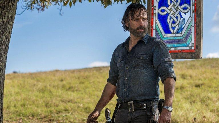 Walking Dead addio, Andrew Lincoln ( Rick) lascia la serie?