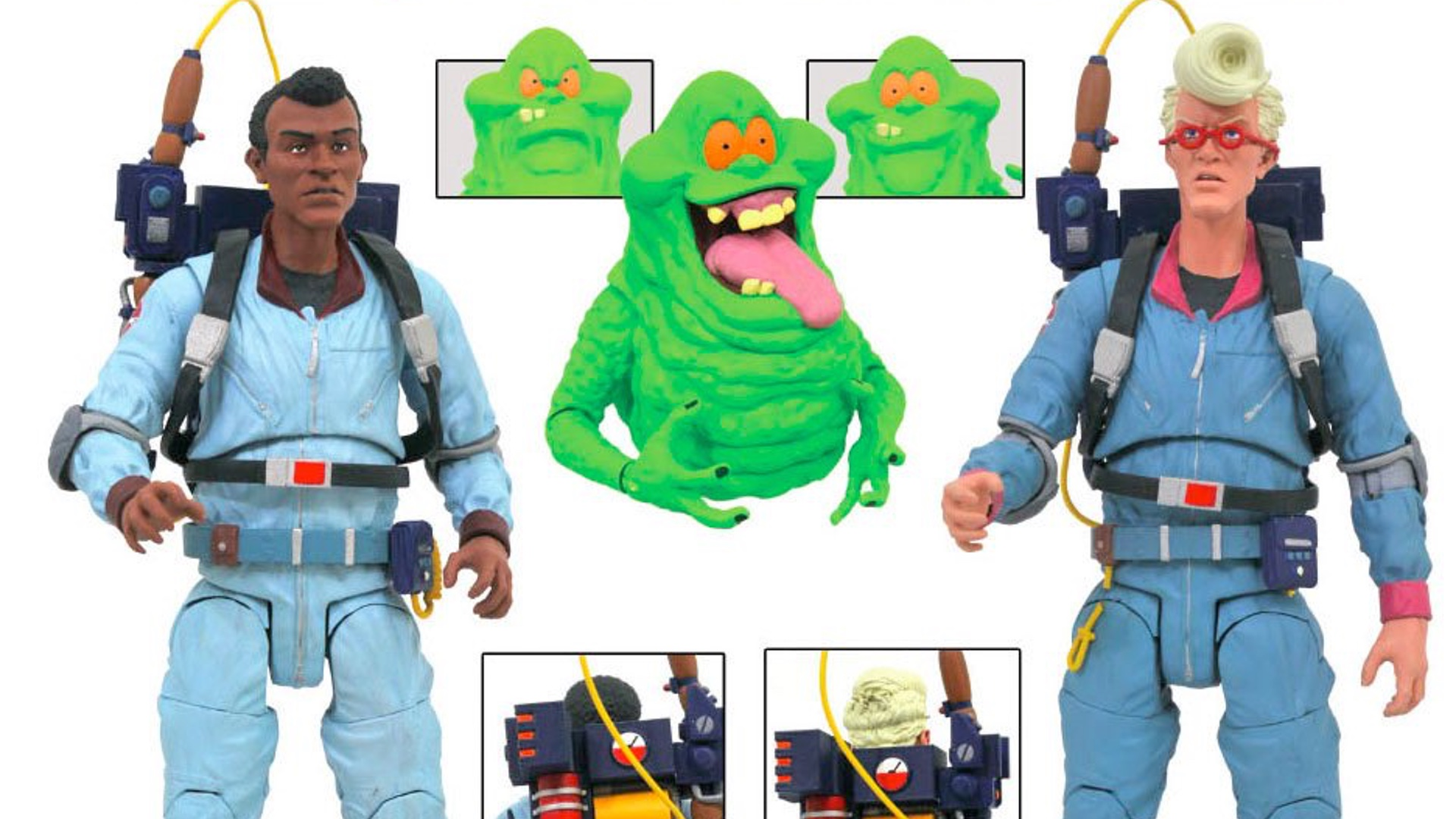Ghostbusters: tornano le action figures anni 80!