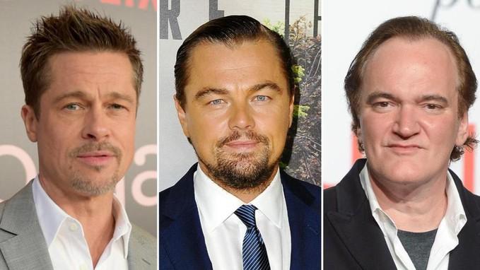 """Leonardo DiCaprio e Brad Pitt nella prima foto ufficiale di """"Once Upon a Time in Hollywood"""""""